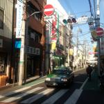 上石神井の商店街