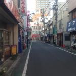 石神井公園駅そばの商店街