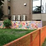 天子峰跡地の壁画