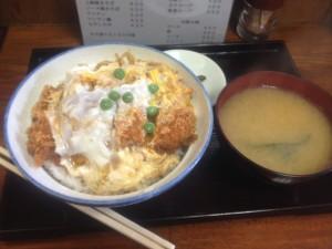 坂本屋のカツ丼