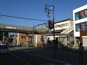 スタート地点三鷹台駅