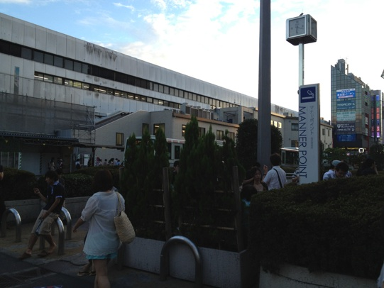 吉祥寺駅北口マナーポイント
