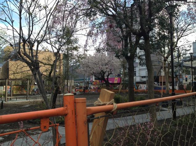宮本小路公園の完成&吉祥寺東町一丁目公園予定地