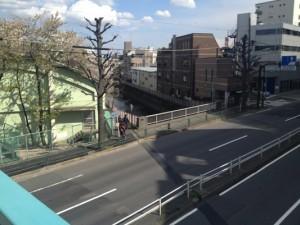 環八との交差点 荻窪橋