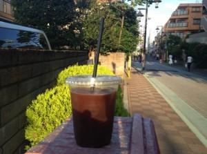 アイスコーヒーの容器