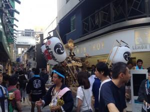 吉祥寺平和通り神輿