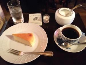 武蔵野珈琲店 チーズケーキとブレンド