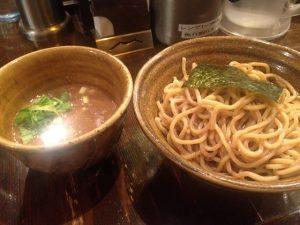 えん寺のつけ麺 胚芽麺