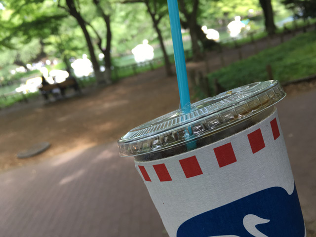 ブルースカイコーヒーでアイスをテイクアウト