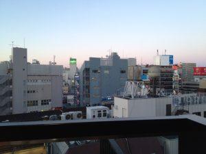 7Fから吉祥寺の眺望