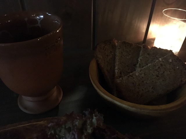 カラスムギとスペルト小麦のパン