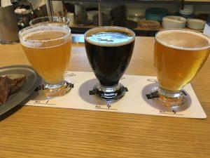複数のビールを試せるBEER FLIGHT(飲み比べセット)