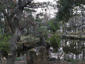 井草森公園の水場