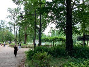 ここは東京都の真ん中にある井の頭公園